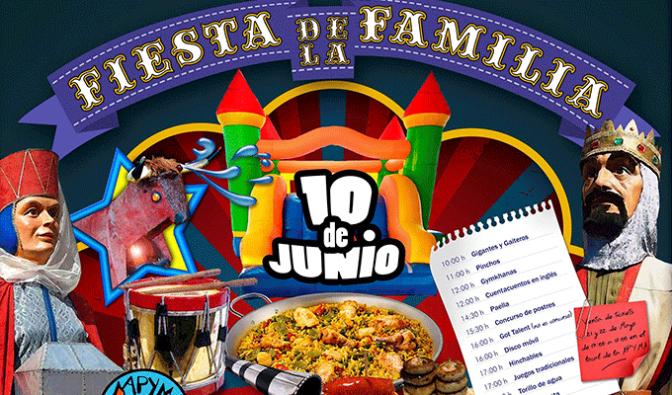 Dia de la Familia en el Colegio Alfonso X EL Sabio