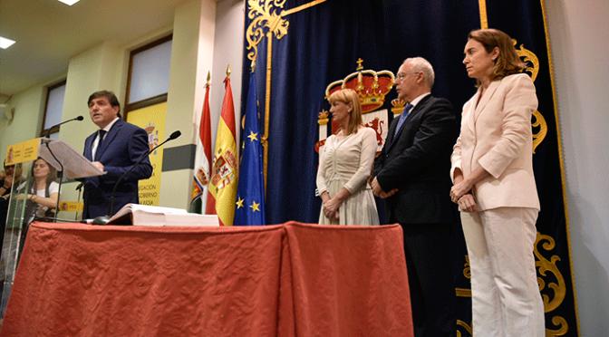 José Ignacio Pérez toma posesión como Delegado del Gobierno en La Rioja