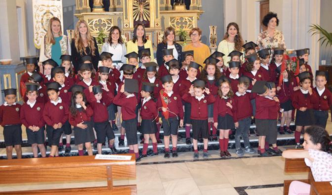 3º de Infantil se gradúa en Agustinos