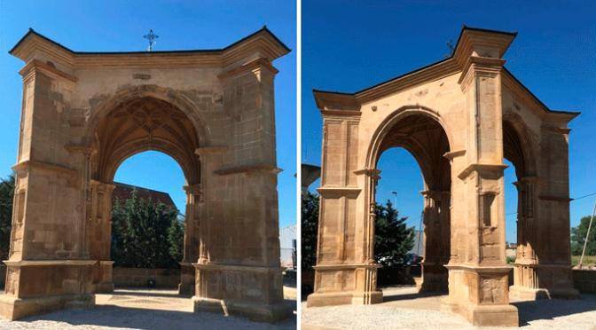 Finalizan las obras de restauración del templete del Humilladero