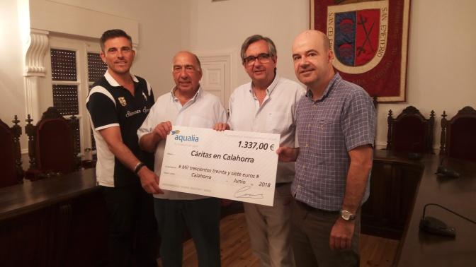 Donación a Cáritas Calahorra