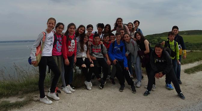 Los alumnos del Valle del Cidacos se van de intercambio para acabar el curso