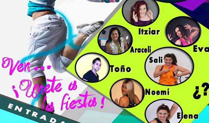 III Maratón de zumba solidario en San Adrián