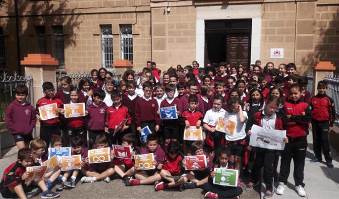 Celebración en Agustinos del Dia del Medio ambiente