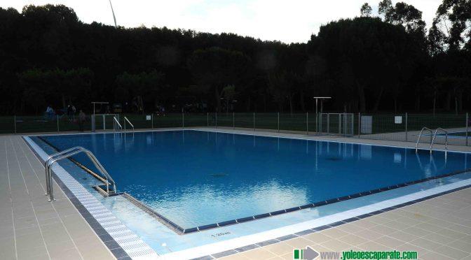 Las piscinas del Complejo Polideportivo Juventud, totalmente reformadas