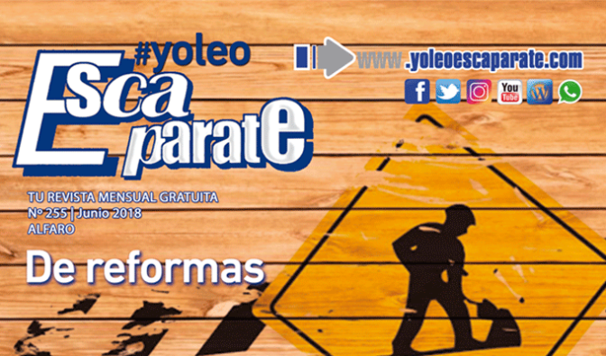 """Escaparate Alfaro Junio """"De reformas"""""""