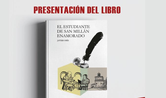 Luis Javier García presenta en calahorra el 6 de junio su novela 'el estudiante de san millán enamorado'
