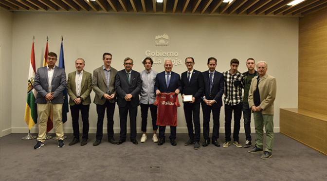 El CD Calahorra es recibido por José Ignacio Ceniceros