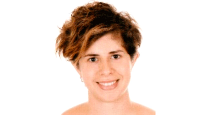 Inés Fernández Morte, profesora del Ies Valle del Cidacos de camino a Texas