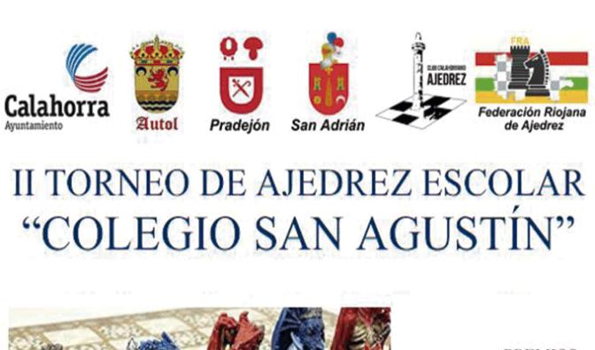 """II Torneo de ajedrez escolar """"Colegio San Agustín"""""""