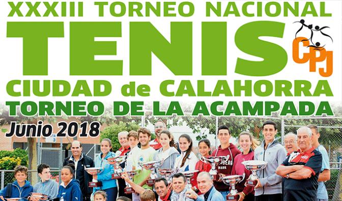 XXXIII Torneo de tenis La Acmpada en Calahorra