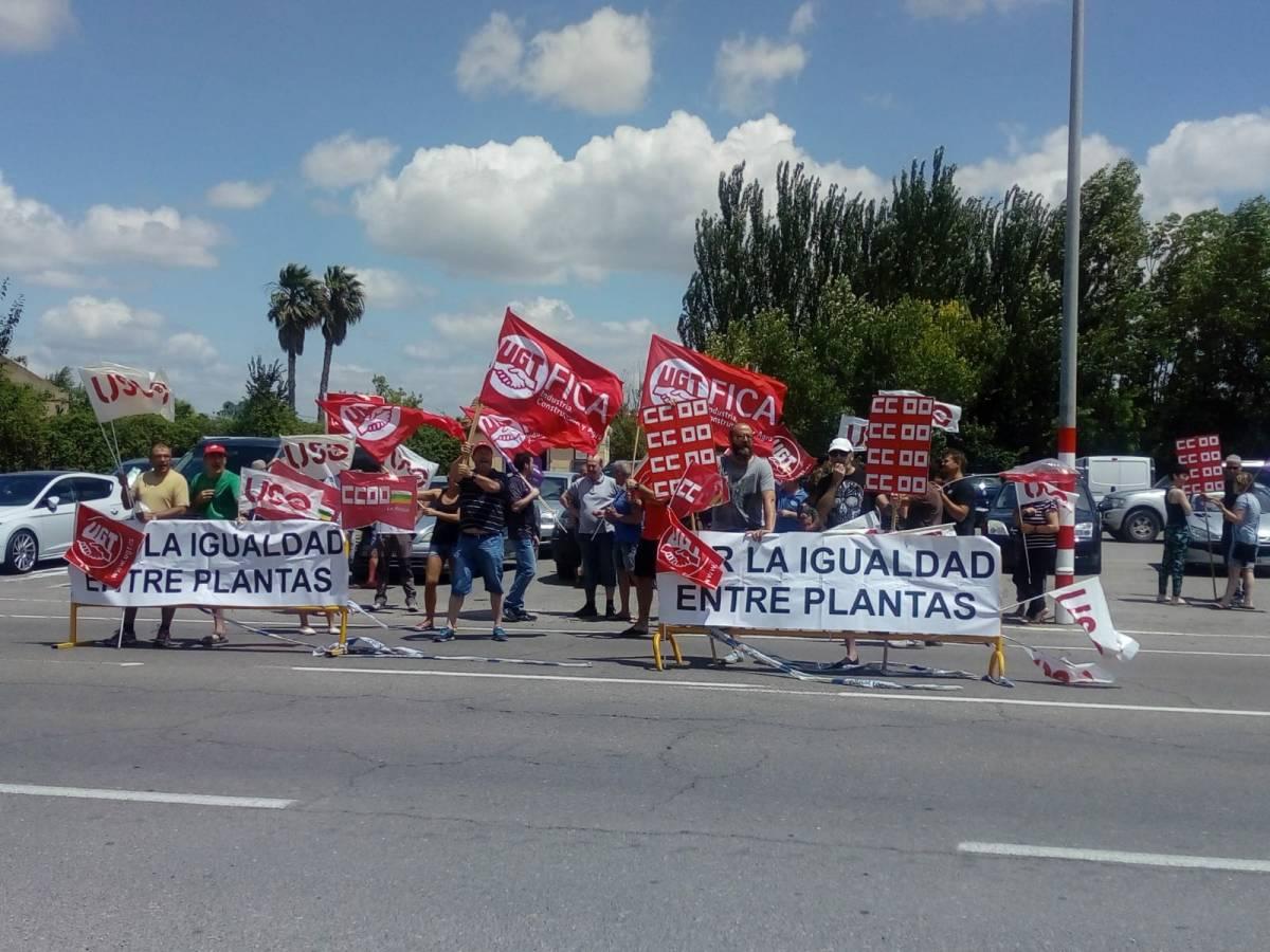Igualdad de condiciones para los trabajadores de Eurofren y Alfarobrakes