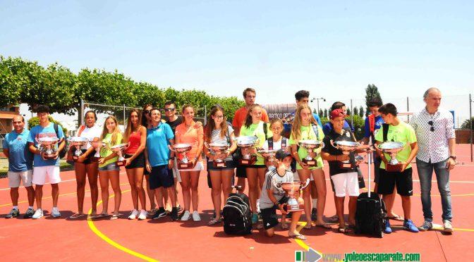 """El buen tiempo acompañó en el XXXIII Torneo de tenis """"Ciudad de Calahorra-La acampada"""""""