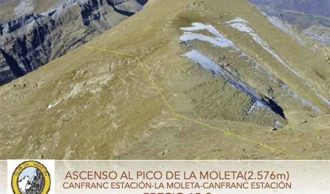 Ascenso al pico de La Moleta