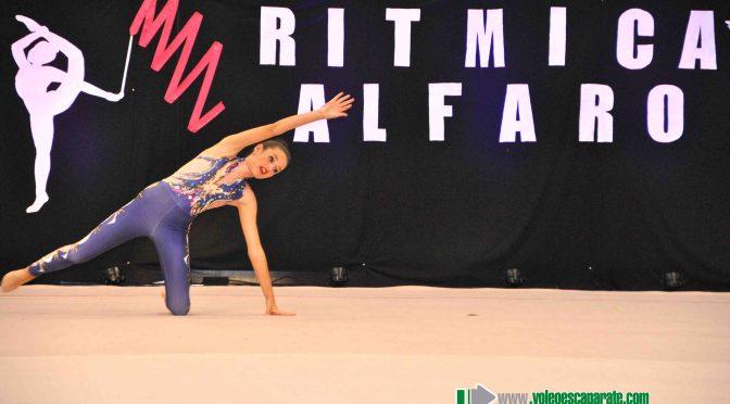 Imágenes: Exhibición del Club Rítmica de Alfaro