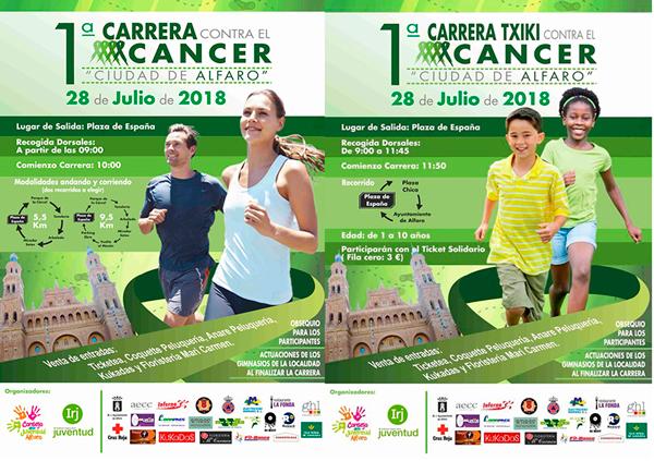 """1ª Carrera contra el cáncer """"Ciudad de Alfaro"""""""