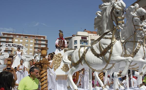 Concurso de carrozas para las fiestas de Calahorra