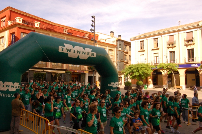 Galeria: Carrera contra el cáncer en Alfaro