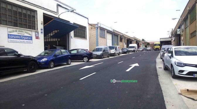 Fin de las obras en la calle y camino de La Algarrada