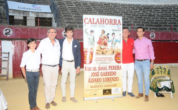 Presentado el cartel la corrida de agosto