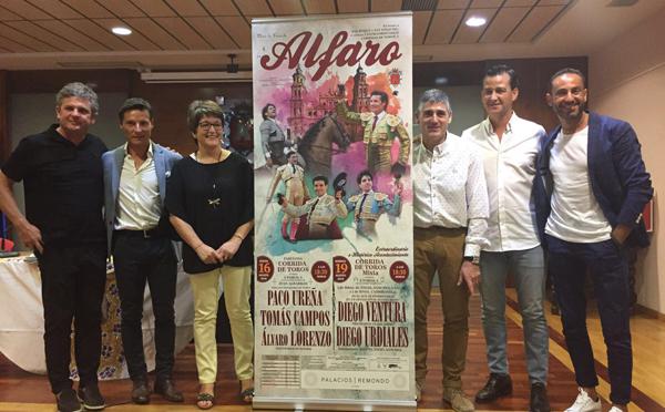 Dos festejos para la feria taurina de Alfaro