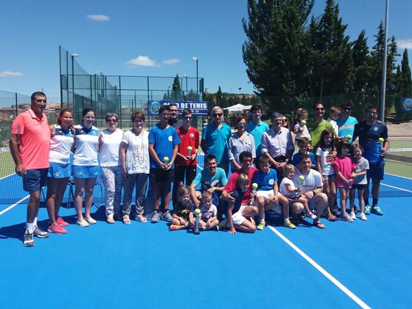 Éxito en los torneos 48 horas de tenis en Alfaro en las nuevas pistas de tenis