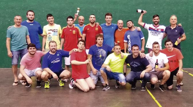 Crónica del VII Torneo Frontenis Calahorra La Planilla (Frontón Barberito)