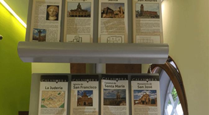 Reeditadas diez fichas turísticas de los principales puntos turísticos de Calahorra