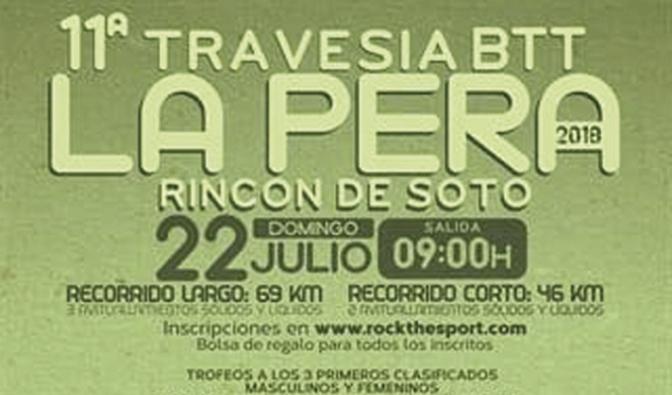 11ª Travesía BTT La Pera en Rincón de Soto