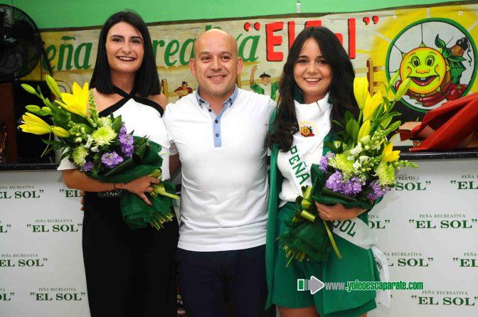 Laura Oyarbide, reina de la Peña El Sol 2018
