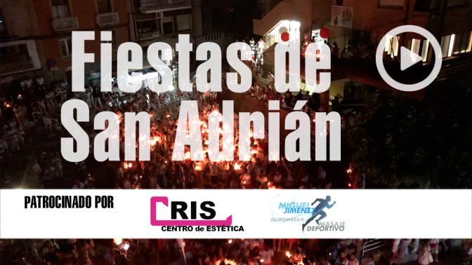 """Al grito de """"Unidos somos únicos"""" San Adrián despidió sus fiestas 2018"""