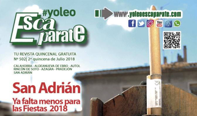 Felices Fiestas San Adrián, edición 2ª Quincena de Julio
