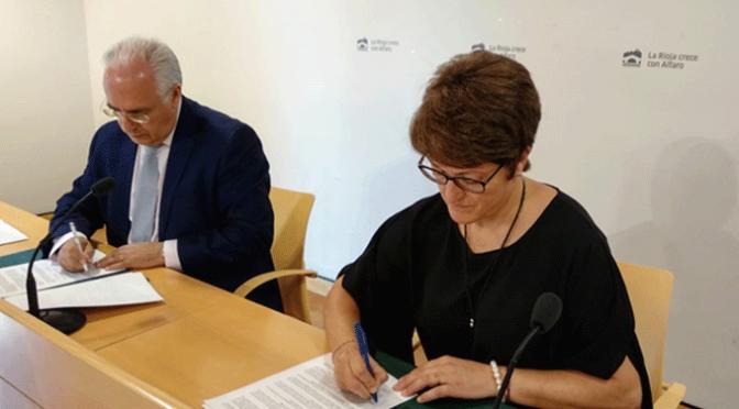 El Gobierno riojano financiará con 787.000 euros la urbanización del barrio de Nuestra Señora del Burgo de Alfaro