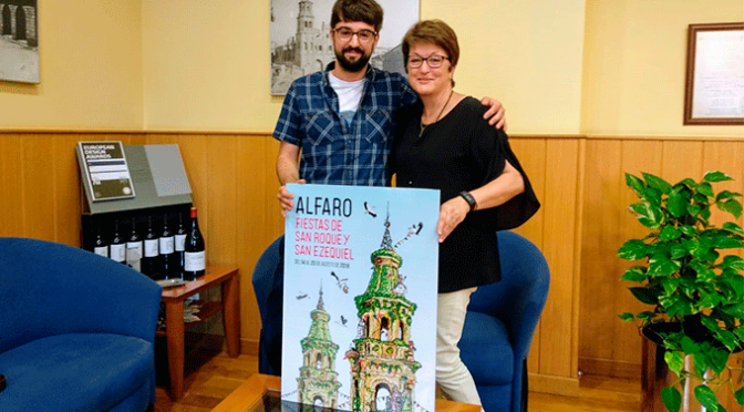 """""""Alfaro en estado puro"""" será el cartel anunciador de las Fiestas de San Roque y San Ezequiel 2018"""