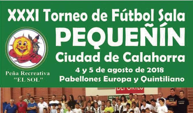 """Llega la 31 edición del Torneo Pequeñín de la Peña """"El Sol"""""""