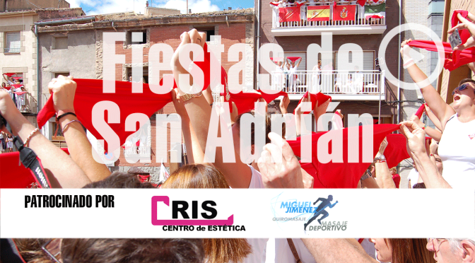 Video: Chupinazo de las fiestas de San Adrián 2018