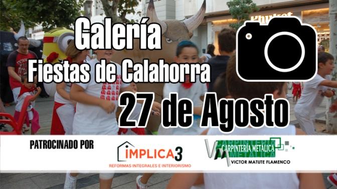 Galeria de Fiestas de Calahorra del 27 de Agosto