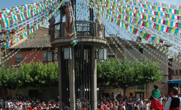 Hoy entierro de la cuba en Aldeanueva de Ebro
