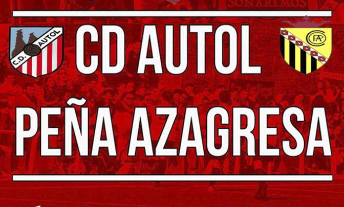 Hoy cita del CD Autol en La Manzanera