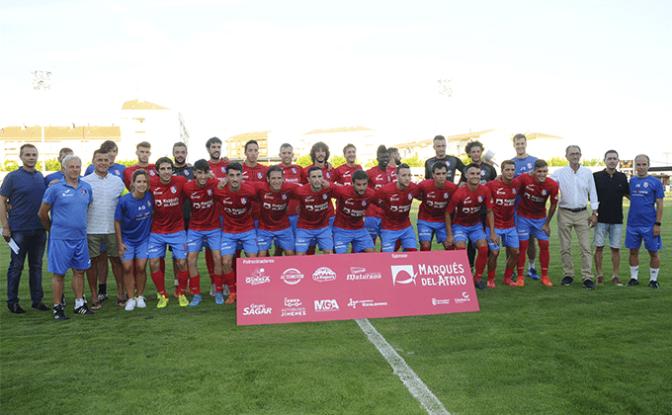 El Cd Calahorra vence a la Real Sociedad por 4-0