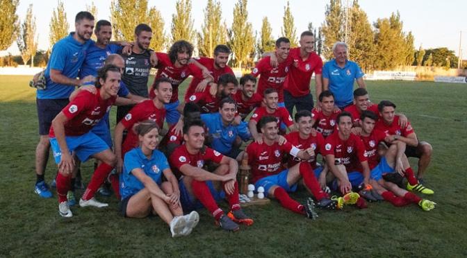 El CD Calahorra se proclamó ayer campeón del IX Trofeo de la Seta y el Champiñón 'Villa de Pradejón'