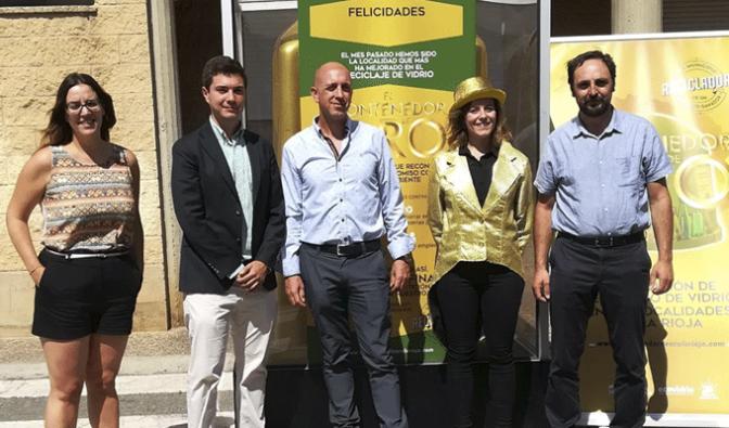 Pradejón gana el 'Contenedor de Oro' de julio en un mes de auténtico éxito de la campaña