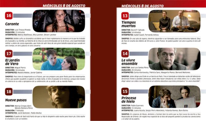 """Tercera noche del XIX Festival de cortometrajes """"¡CORT…en!-Ciudad de Calahorra"""