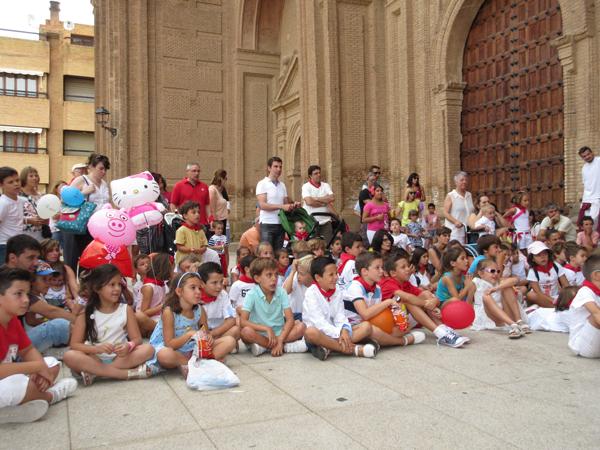 Los niños protagonistas de las fiestas de Alfaro