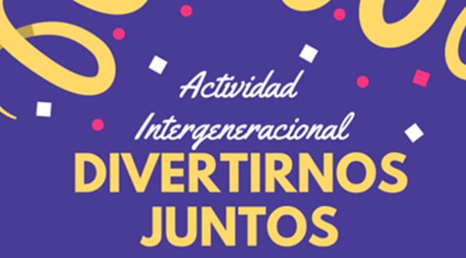 """Nueva inciativa del CJCC """"Divertirnos juntos"""" Para abuelos y nietos"""