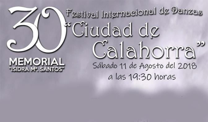 """Llega la 30 edición del Festival de danzas """"Ciudad de Calahorra"""""""