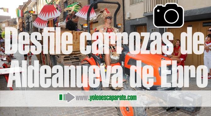 Galería: Gran desfile de carrozas en Aldeanueva de Ebro