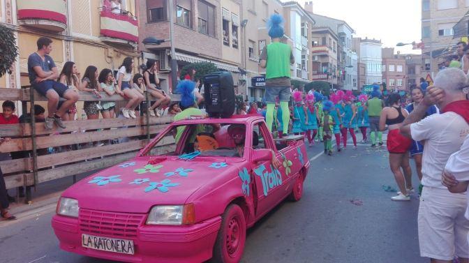 Increíbles las carrozas de Rincón de Soto