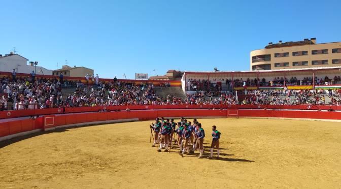La mañana en Alfaro ha comenzado en la plaza de toros