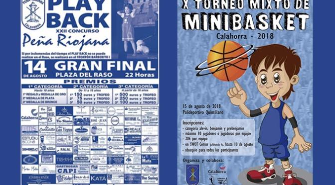 Play back para hoy y mini basket para mañana